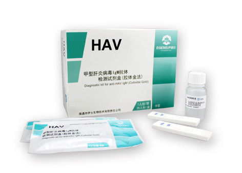 Hepatitis A Virus Antigen Test Cassette / HAV IgM Rapid Test Cassette