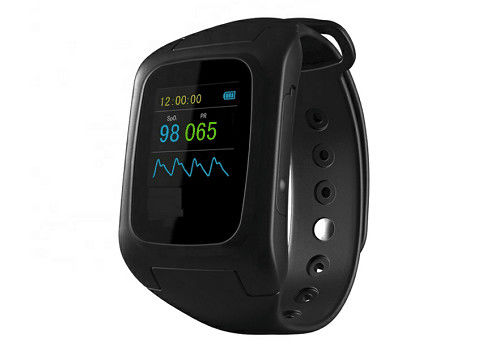 Diabetic Testing Equipment Medical Portable Intelligent Snore Stopper Watch Black Color Custom Logo