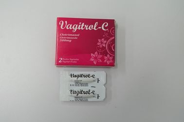 Chine Mg de la Tablette 500 de Clotrimazole, crème vaginale de Clotrimazole de suppositoire usine
