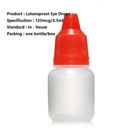 Solution ophtalmique de Latanoprost 125Mcg/2.5Ml, médicament ophtalmique de Latanoprost